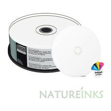25 MediaRange CD R 48x 90 mins Blank Printable full face 800MB 90 minute MR242