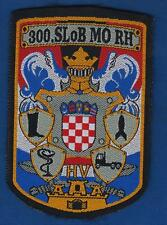 CROATIA ARMY, LOGISTIC SECTOR, 300th (CENTRAL) LOGISTIC BASE 1996. VINTAGE PATCH