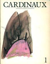 CARDINAUX. Revue d'art bi-annuelle -  Automne 1986, N.1