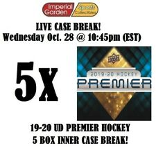 19-20 UD PREMIER HOCKEY 5 (FIVE) BOX CASE BREAK #1987 - Boston Bruins