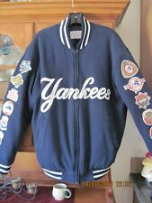 Wool blend, Quilted NY Yankees 26 time World Series  Jacket. Excellent condition