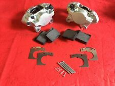PAIR TRIUMPH SPITFIRE & LATE HERALD TYPE 14 BRAKE CALIPERS PADS & FITTING KIT