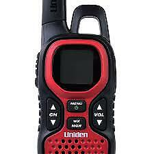 Uniden GMR3740-3CK 37 Mile Two-Way GMRS Radio - Red (IL/RT6-13300-GM3740-UG)