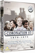 CORONATION STREET 1970 to 1979 series 10 disc box set. New sealed DVD.
