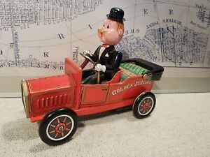 Tin toy Nomura  Battery Operated Oldtimer Sunday Driver