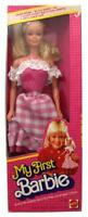 Vintage 1982 My First Barbie Doll Easy-to-Dress Pink Outfit Mattel #1875 NIB