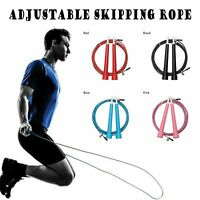 Sauter Réglable Câble Corde Pour Exercice Fitness Vitesse Entraînement Gym