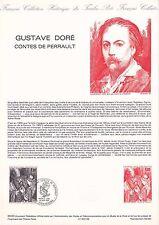 Document Philatélique Timbre 1er Jour : 18/06/ 1983 - Gustave Doré  Perrault