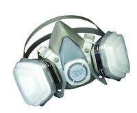 3M Paint Spray Respirator Large. Mask Solvent Particulate Vapor Gas Dust Oil P95