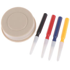 4 x Oiler Pen Needle With Oil Cup Watch Clock Repair Tool Kit For Watchmakerha