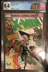 Uncanny X-Men #171 CGC 9.4 Rogue Joins X-Men w/X-Men Label Binary Carol Denvers
