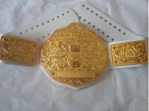Big Gold World Heavyweight Championship Replica Title Belt 2MM / 4MM
