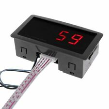 Digital Counter DC LED 4 Digit 0-9999 Up/Down Plus/Minus Panel Meter with Cable