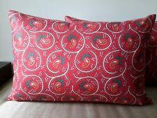 Handmade Cushion Cover Christmas Colours  40 x 60cm  - NEW