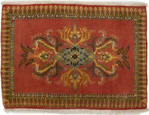 Small Classic Floral Design 2X3 Handmade Oriental Rug Kitchen Bathroom Carpet