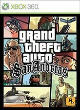 Grand Theft Auto SAN ANDREAS XBOX 360 PLATINUM NEW! MOB ACTION, GUN, MAFIA FIGHT