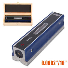 """8"""" Master Precision Level in Fitted Box For Machinist Tool 0.0002''/10''"""