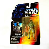 Star Wars Power of the Force Boba Fett 1995 Kenner Action Figure