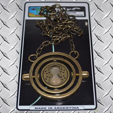 Time Turner Metal Pendant Replica Sand Clock Harry Potter Gryffindor Hermione