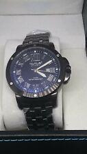 Wave London Premier mens watch, steel strap, date, stainless case