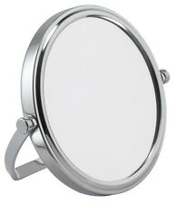 7x Magnification Chrome Travel Mirror Make-Up Mirror Shaving Mirror 70210CHR