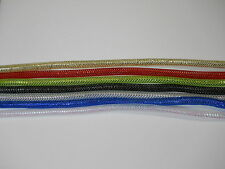 Fly Tying Material Mylar Braided Tubing holo metallic 7 colors size 3/8 F01