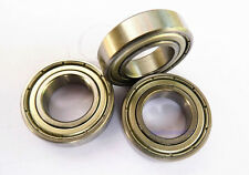 10pcs new stainless steel Ball Bearing sealed S6205 25*52*15mm SS 6205ZZ
