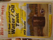 Rix HO #628-503 29' Water/Oil tank pk/top