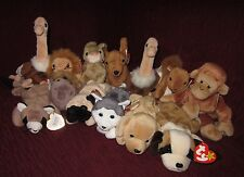 TY BEANIE BEANNIE BABY MIXED LOT OF 13 RETIRED  BABIES