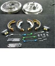 FORD FOCUS 1998-04 REAR BRAKE DRUMS SHOES BRAKE ADJUSTER CYLINDER FITTING KIT