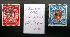 GERMANY 1939 As Described Fine/Used NB1817