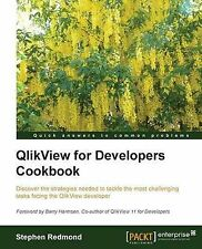NEW QlikView for Developers Cookbook by Stephen Redmond