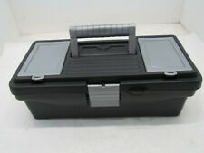Small Plastic Tool Box with Top Storage