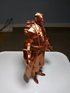 ✨Team Fortress 2 Medic Figure 3D Printed Copper TF2 Collectible Model PC Gaming✨