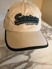 Stetson Tradition Hat Cap Khaki Green Script Adjustable