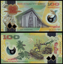 PAPUA NEW GUINEA 100 KINA (P33) N. D. (2012) POLYMER UNC