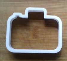 Camera Photography Cookie Cutter Biscuit Pastry Fondant Stencil Silhouette SH01