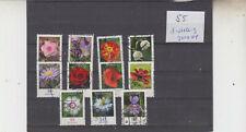 Rollenmarken Blumen (55) 3-stellige Zähl-Nr gerade
