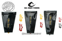 Cal Coast Fishing Bait Sack Black Out Lure Protector Sleeve Cover Wrap SM MD LG