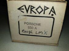 Kit 1/43 porsche 550 A LM coupé