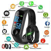 M4 Smart Band Fitness Tracker Watch Sport Bracelet New Blood