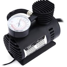 Black Mini DC 12V Electric Car Inflatable Pumping Air Pumps Compressor 300 PSI