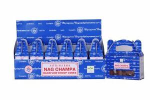 Satya Nag Champa Backflow Dhoop Cones