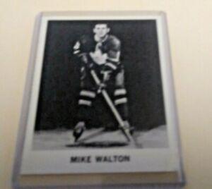 1965 Coca-Cola Mike Walton (R) Rookie Card Toronto Maple Leafs