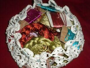 ****Beautiful Antique&Vintage Original Lot of  % Silk Rope*****