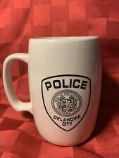 OCPD Oklahoma City Police Department Coffee Cup Mug Vintage