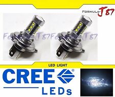 CREE LED 80W 9003 HB2 H4 WHITE 5000K TWO BULB HEAD LIGHT REPLACE OFF ROAD LAMP