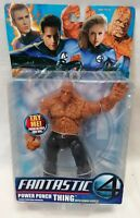 FANTASTIC FOUR - *Unopened* Power Punch The Thing Figure Toy Biz Marvel 2005