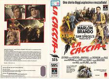 La Caccia (1966) VHS Columbia Pct. 1a Ed.   Marlon Brando Jane Fonda
