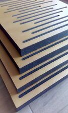 6X NEW OAK wood color diffusers acoustic panel sound studio wall absorption HOME